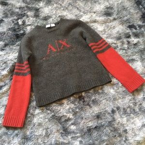 AX Lambswool Varsity Sweater